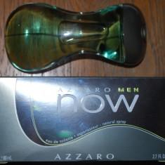 Vand apa de toaleta Azzaro Men Now, 80 ml - Parfum barbati Azzaro, Lemnos