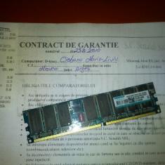 Memorie RAM Kingmax, DDR, 512 MB - RAM DDR1 512MB SUPER PRET NEGOCIABIL