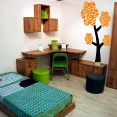 Autocolant - sticker decorativ de perete - Copac camera copii - Tapet