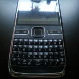 Telefon mobil Nokia E72, Negru, Neblocat - Nokia E72 Black Necodat + Accesorii