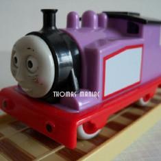 Trenulet de jucarie Thomas and Friends, Plastic, Unisex - My First Thomas by Golden Bear trenulet - Rosie locomotiva mov deschis din Sodor ( transport 2.6 RON la plata in avans )