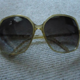 Ochelari de soare VANS maro transparent Rokin' Lady, Femei, Patrati, Protectie UV 100%