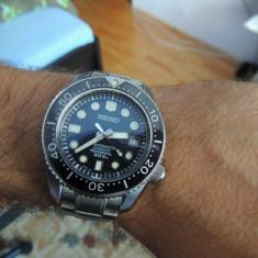Seiko Marinemaster - Ceas barbatesc Seiko, Mecanic-Automatic, Inox, Pentru scufundari (Diver), Analog