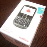 Vand Vodafone Chat 655W Black NOU!!! SIGILAT!!! - Telefon mobil Vodafone, Negru, 2 MP, 2G & 3G