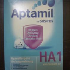 Lapte praf bebelusi Milupa, De la 0 luni - APTAMIL HA 1, 600 g, 0-6 luni