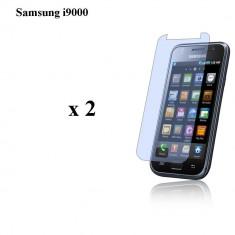Folie de protectie, Samsung Galaxy S, Anti zgariere - 2 Foli protectie Display Samsung Galaxy S1 / i9000 - Clara