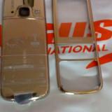 Carcasa nokia 6700 gold noua originala  sigilata folie fata spate butoane mijloc