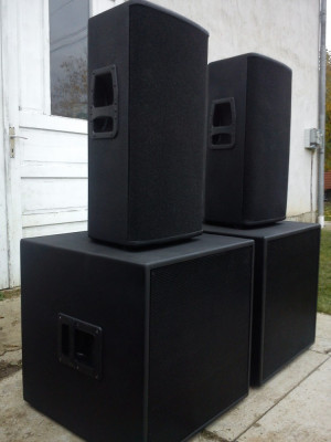 Boxe audio tip VL122 (Dynacord) foto