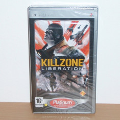 Joc UMD pentru PSP - Killzone : Liberation Platinum Edition, nou, sigilat !!! - Jocuri PSP Sony, Actiune