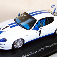 IXO Maserati Trofeo presentation car 1:43 - Macheta auto