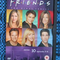 FRIENDS (sez. 10, epis. 5-8) - film DVD (original, in stare impecabila!!!) - Film serial, Comedie, Engleza