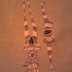 Colier si bratara - Set bijuterii handmade si fashion
