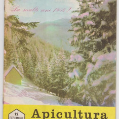 Revista APICULTURA IN ROMANIA, nr.12, 1987 (stuparit, albinarit, albinelor)