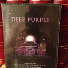 DEEP PURPLE-IN CONCERT & LONDON SYMPHONY ORCHESTRA(1999/SONY) - DVD NOU/SIGILAT - Muzica Rock Eagle