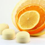 Citrusfresh - bombă efervescentă de baie cu aroma de portocala