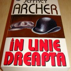 Roman, Rao - IN LINE DREAPTA - Jeffrey Archer