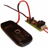 GSM controller porneste/opreste alarma sau orice aparat electric prin apel tel. - Sisteme de alarma