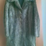 Palton din blana naturala de nutrie marimea 40,este ca nou,este nemtesc!