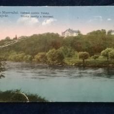 Castelul Contele Teleky - Marosujvar- Ocna Mures - circulata - 4 timbre