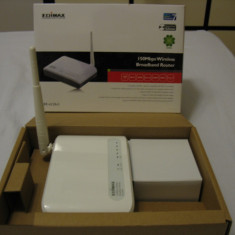 Router Wireless 150 Mbps Edimax BR-6228nS - stare noua, Porturi LAN: 4, Porturi WAN: 1