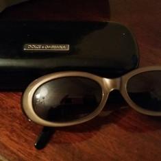 Ochelari de Soare D&G - Ochelari de soare D&G, Femei, Maro, Ovali, Plastic, Protectie UV 100%