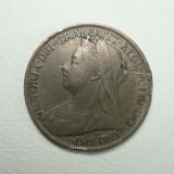 MAREA BRITANIE - REGINA VICTORIA - ONE PENNY 1897