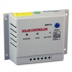 REGULATOR CONTROLER SOLAR MPPT WELLSEE pentru panouri solare fotovoltaice 48 V 15 A