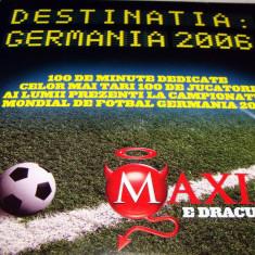 DESTINATIA GERMANIA 2006 - Cei mai tari 100 de jucatori CM 2006 DVD - DVD fotbal