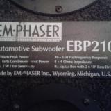 Subwoofer EmPhaser 300W - Amplificator Rodek - Amplificator audio, peste 200W