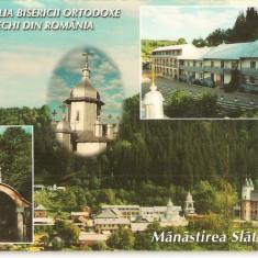 Carti Postale Romania dupa 1918, Necirculata, Fotografie - CPI (B1987) MANASTIREA SLATIOARA, COM. RASCA, JUD. SUCEAVA, TIPAR: ACCENT PRINT, NECIRCULATA,