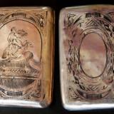 Tabachera din argint ruseasca
