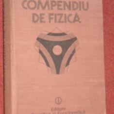 COMPENDIU DE FIZICA (1988) - Carte Fizica