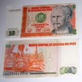 50 intis Peru -bancnote UNC - 2+1 gratis toate licitatiile - RBK1938