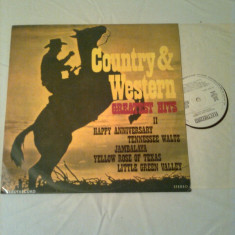COUNTRY & WESTWRN GREATEST HITS II - disc vinil - Muzica Country electrecord