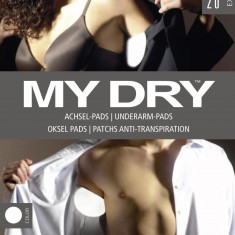 20 x absorbante axila MY DRY materiale naturale!