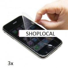 Folie de protectie - VAND FOLII - 3X FOLIE IPHONE 3 3G (SET DE 3 BUC) - LIVRARE GRATUITA IN TARA !!! CEL MAI MIC PRET