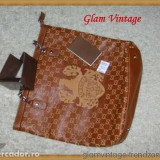 Geanta Dama Gucci, Geanta de umar, Multicolor, Piele, Supradimensionata - Geanta GUCCI originala