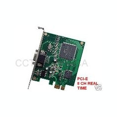 PCI Express 8 Channel DVR Card Video 240 FPS