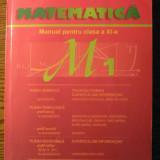 Marius Burtea, Georgeta Burtea - Matematica - Manual pentru clasa a XI-a - M1 - Manual Clasa a XI-a, Clasa 11