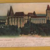 Carti Postale Romania pana la 1904, Circulata - HUNEDOARA CASTELUL 1906 (T)