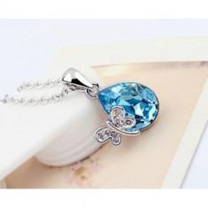 Colier Crystal Blue - Colier Swarovski