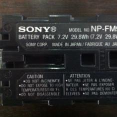 Acumulator Sony NP-FM91, de mare capacitate, infoLITHIUM M - Baterie Camera Video