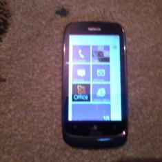 Vand nokia lumia 610 - Telefon mobil Nokia Lumia 610, Negru, Neblocat