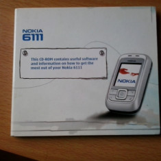 Vand CD software Nokia 6111 - Aplicatie PC