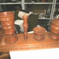 Suport lemn birou vechi - Mobilier
