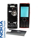 Carcasa Nokia X2, X2-00 Negru Neagra Noua Completa