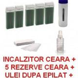 INCALZITOR APARAT INCALZIT CEARA KIT / SET EPILARE EPILAT