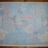 Harta feroviara a Europei Sc. 1 : 3 500 000 / editata 1981