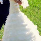 Rochie de mireasa deosebita (marimea 34- 36) - Rochie de mireasa printesa