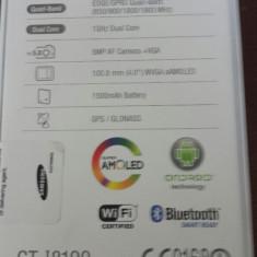 Telefon mobil Samsung Galaxy S3 Mini, 8GB, Neblocat - Samsung GALAXY S3 mini 8GB GT-I8190 culoare:White La Fleur nou + garantie